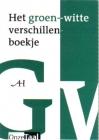 Het groen-witte verschillenboekje